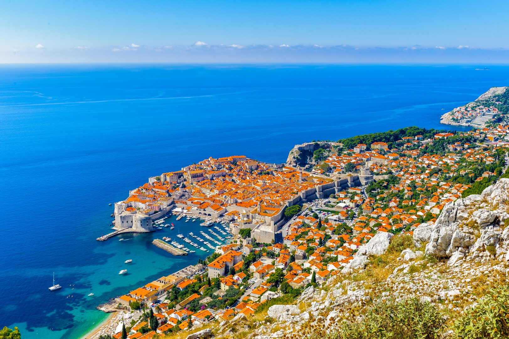 Destination Dubrovnik sur locationbateau